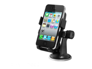 Easy One Touch Black Universal Car Mount Holder for iPhone 5S, 5C, 5, 4S, Samsung Galaxy S4 9SIA7N43JJ2571