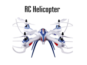 RC Quadcopter Skytech Four Axis Remote Control Toy Professional Helicopter X6 with HD Camera Drone Aircraft