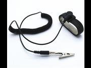Anti-static wrist strap metal corded