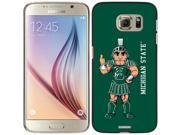 Coveroo Samsung Galaxy S6 Black Thinshield Case with Michigan State Mascot Full Design 9SIAC565064058