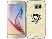 Coveroo Samsung Galaxy S6 Black Thinshield Case with Pittsburgh Penguins Digi Camo Color Design 9SIAC565057219