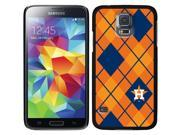Coveroo Samsung Galaxy S5 Black Thinshield Case with Houston Astros Argyle Design