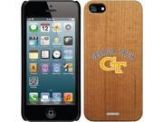 Coveroo Apple iPhone SE/5/5s Wood Thinshield Case with Georgia Tech GT Logo, Color Design
