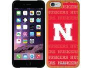 Coveroo iPhone 6 Madera Wood Thinshield Case with Nebraska Repeating Design