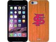 Coveroo Apple iPhone 6/6s Wood Thinshield Case with Fresno State FS, Color Design