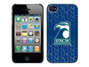 Coveroo Apple iPhone 4/4S Black Thinshield Case with UNCW Repeating, Full-Color Design