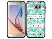 Coveroo Samsung Galaxy S6 Black Guardian Case with Ocean Air Salty Hair, Full-Color Design 9SIA7NX4VW1021