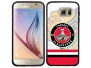 Coveroo Samsung Galaxy S6 Black Guardian Case with Chicago Blackhawks 2015 Stanley Cup Champions, Full-Color Design 9SIA7NX4VW1322