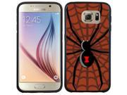Coveroo Samsung Galaxy S6 Black Guardian Case with Halloween Spider, Full-Color Design 9SIA7NX4VW3051