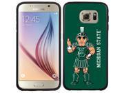 Coveroo Samsung Galaxy S6 Black Guardian Case with Michigan State Mascot Full, Full-Color Design 9SIA7NX4W86359