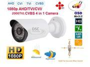 4 in 1 HD CCTV 2.4MP Camera support HD CVI AHD TVI Analog CVBS In Outdoor IR Bullet Security Camera