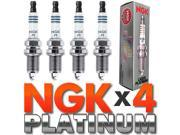 4 PC NGK Laser Platinum Spark Plug Set > OEM for VW/Audi 1.8T/2.0L US/Euro Model