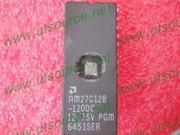 10pcs AM27C128-120DC