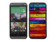 MOONCASE Hard Protective Printing Back Plate Case Cover for HTC One M8 No.5001609