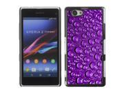 MOONCASE Hard Protective Printing Back Plate Case Cover for Sony Xperia Z1 Compact No.5005258