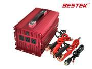 BESTEK MRI20011 2000W Car 12V DC to 110V AC Power Inverter