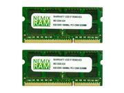 NEMIX RAM 16GB (2X8GB) DDR3 1866MHz PC3-14900 204-pin SODIMM Laptop Notebook Memory