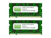 NEMIX RAM 4GB (2 X 2GB) DDR2 667MHz PC2-5300 SODIMM Memory for Apple iMac Core 2 Duo Mid 2007