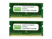 NEMIX RAM 16GB (2X8GB) DDR3 1600MHz PC3-12800 204-pin SODIMM Laptop Notebook Memory