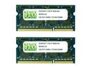 NEMIX RAM 4GB (2X2GB) DDR3 1066MHz PC3-8500 204-pin SODIMM Laptop Notebook Memory