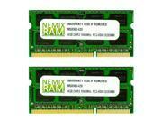 NEMIX RAM 8GB (2 X 4GB) DDR3 1066MHz PC3-8500 SODIMM Memory for Apple iMac 2009 9,1