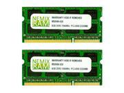 NEMIX RAM 16GB (2X8GB) DDR3 1066MHz PC3-8500 204-pin SODIMM Laptop Notebook Memory
