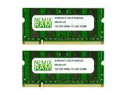 NEMIX RAM 4GB (2 X 2GB) DDR2 667MHz PC2-5300 SODIMM Memory for Apple MacBook Pro Early 2008