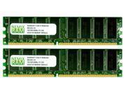 NEMIX RAM 2GB (2X1GB) DDR 400MHz PC3200 Memory for Apple Mac G5 PowerMac 7,2 & 9,1 DUAL PROC