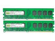 NEMIX RAM 4GB (2 X 2GB) DDR3 1600MHz PC3-12800 240-pin DIMM Desktop PC Memory