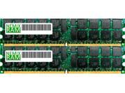NEMIX RAM 2GB (2 x 1GB) DDR 266MHz PC-2100 ECC Registered Server Memory For Oracle/Sun Systems - X7404A-4