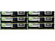 NEMIX RAM 12GB (6 x 2GB) DDR2-667MHz PC2-5300 240-pin 1.8V Dual Rank ECC Fully Buffered Server Memory Module
