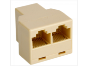 RJ45 Cat 5 6 Ethernet Splitter Connector Adapter
