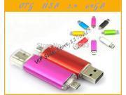 New full 64GB Smart Phone Tablet PC  USB Flash Drive pen drive OTG external storage micro 64g usb drive memory stick