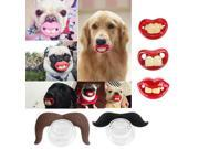 Random 3 pcs Dogs Toys Funny LOL Teeth Dummy Pacifier Soother Small Dog Bulldog Pug Pet Chew Toys Pacifier