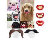 Random 3 pcs Dogs Funny LOL Teeth Dummy Pets Pacifier Soother Small Dog Bulldog Pug Pet Chew Toys jouet chat juguetes perro