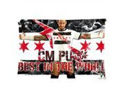 Cm Punk Best In The World Pillowcases Custom Pillow Case Cushion Cover 20 X 26 Inch Two Sides 9SIA7SS4P47094
