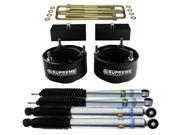 "Bilstein Shocks 5100 Series + Full Ram 2500 3500 Lift Kit 3"""" Front Lift Coil Spring Spacers + 1.5"""" Rear Lift Billet Blocks PRO Supreme Suspensions Dodge Ram Lev"" 9SIA7SZ3CF9504"