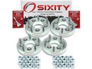 Sixity Auto 4pc 1.25 Thick 5x5.5 Wheel Adapters Dodge B250 Pickup D200 Series D250 Dakota Daytona Nitro Ramcharger Loctite