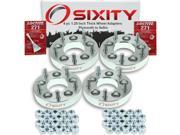 Sixity Auto 4pc 1.25 Thick 5x5 Wheel Adapters Plymouth Grand Voyager Laser Outlander Prowler Loctite