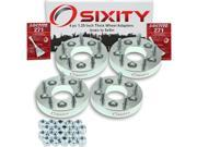 Sixity Auto 4pc 1.25 Thick 5x5 Wheel Adapters Isuzu Hombre Loctite