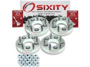 Sixity Auto 4pc 1.25 Thick 5x120.7mm Wheel Adapters Eagle Talon Vision Loctite