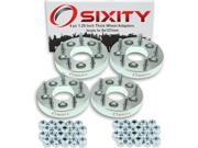 Sixity Auto 4pc 1.25 Thick 5x127mm Wheel Adapters Isuzu Hombre