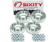 Sixity Auto 4pc 1.25 Thick 5x127mm Wheel Adapters Cadillac Eldorado XLR
