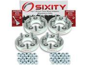Sixity Auto 4pc 1.25 Thick 5x5 Wheel Adapters Mitsubishi 3000GT Diamante Eclipse Endeavor Galant Lancer Outlander Starion Van Loctite