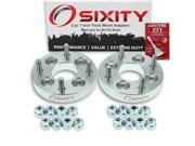 Sixity Auto 2pc 1 Thick 4x114.3mm Wheel Adapters Mercury Tracer Loctite