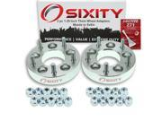 Sixity Auto 2pc 1.25 Thick 5x5 Wheel Adapters Mazda 5 B2000 B2200 B2600 Loctite