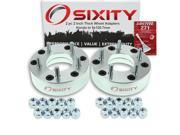 Sixity Auto 2pc 2 Thick 5x120.7mm Wheel Adapters Honda Passport Loctite