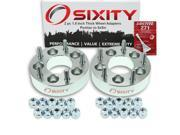 Sixity Auto 2pc 1.5 Thick 5x5 Wheel Adapters Pontiac Vibe Loctite