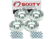 Sixity Auto 4pc 1.5 Thick 5x114.3mm Wheel Adapters Dodge D150 D250 1500 2500 Ram 3500 Van Ramcharger