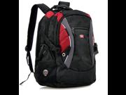 Swissgear Backpack laptop bag travel bag(Black/Red)